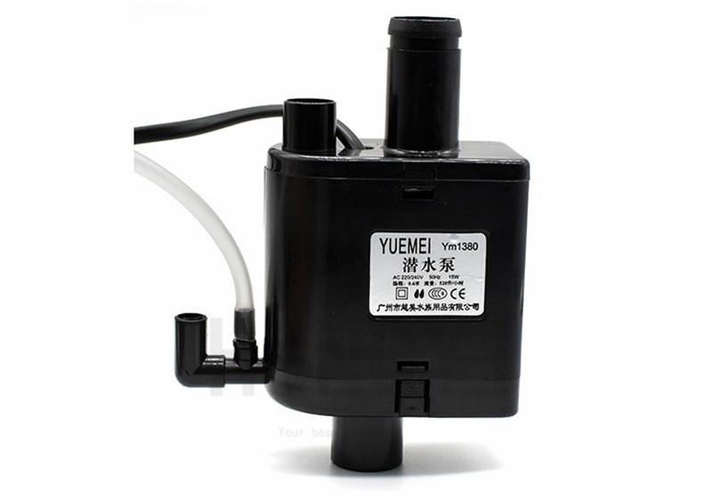 HONGYI 1 piece YM-1080/1380/1680 pompa pesci acquario pompa sommersa tre-in-un filtro 220-240V