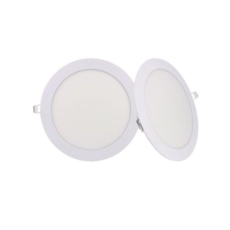 LED Tavan Işık LED Panel Işıkları 6 W 9 W 12 W 15 W 18 W 21W AC85-265V İç Aydınlatma, Yuvarlak / Kare LED Işık