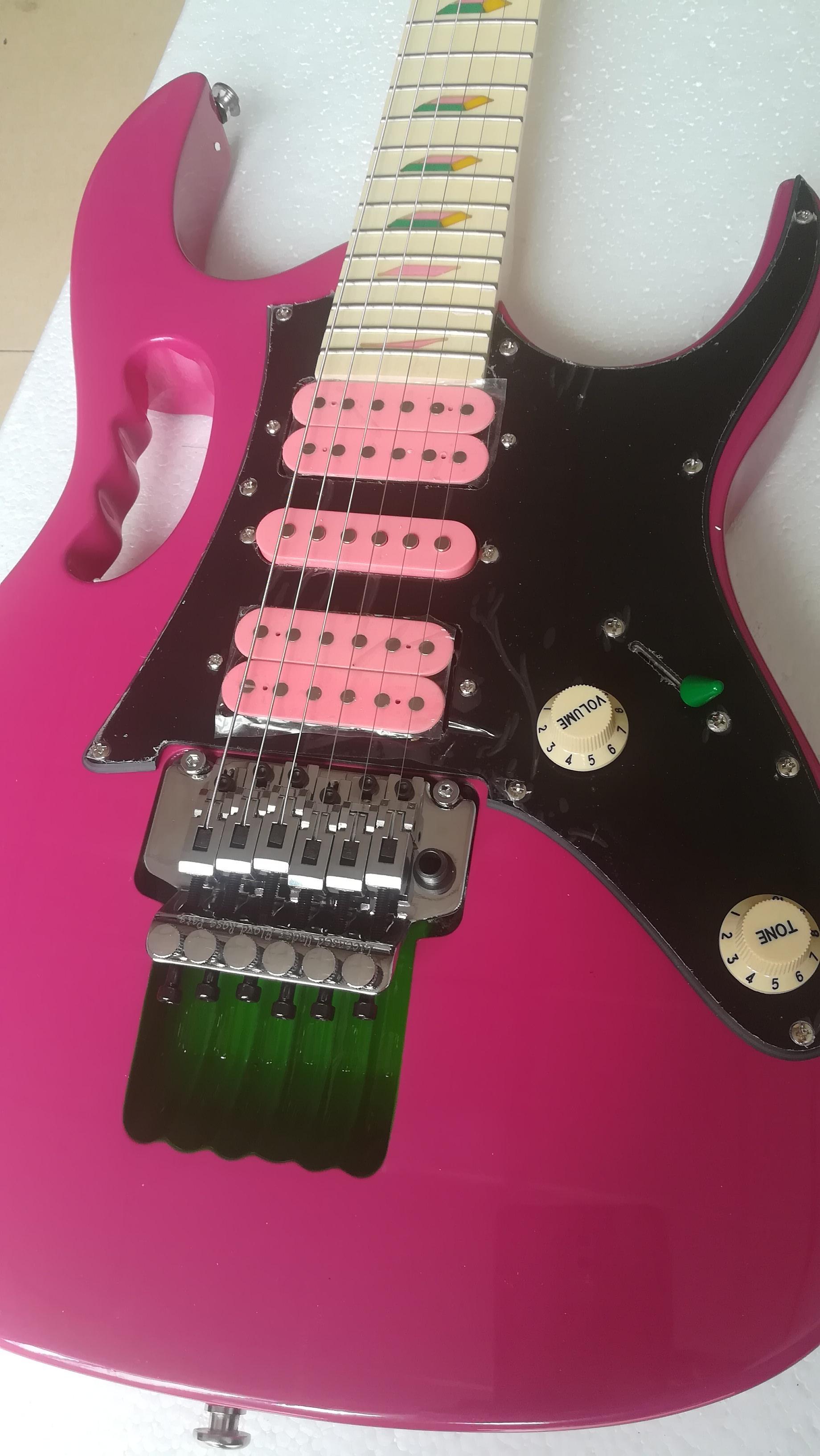 빨간색 전문 전기베이스 전기 기타 사용자 정의 가게 멀티 컬러 옵션 중국어 공장 사용자 정의 전기 기타 쿨, 당신은 변경할 수 있습니다