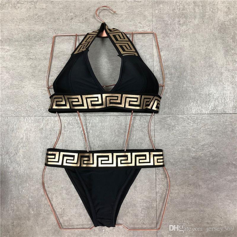 2020 Il nuovo progettista Swimsuit Swimwear di modo con il rilievo per le donne costume da bagno della fasciatura sexy vestiti di bagno di un pezzo sexy Bikini 4 dimensioni