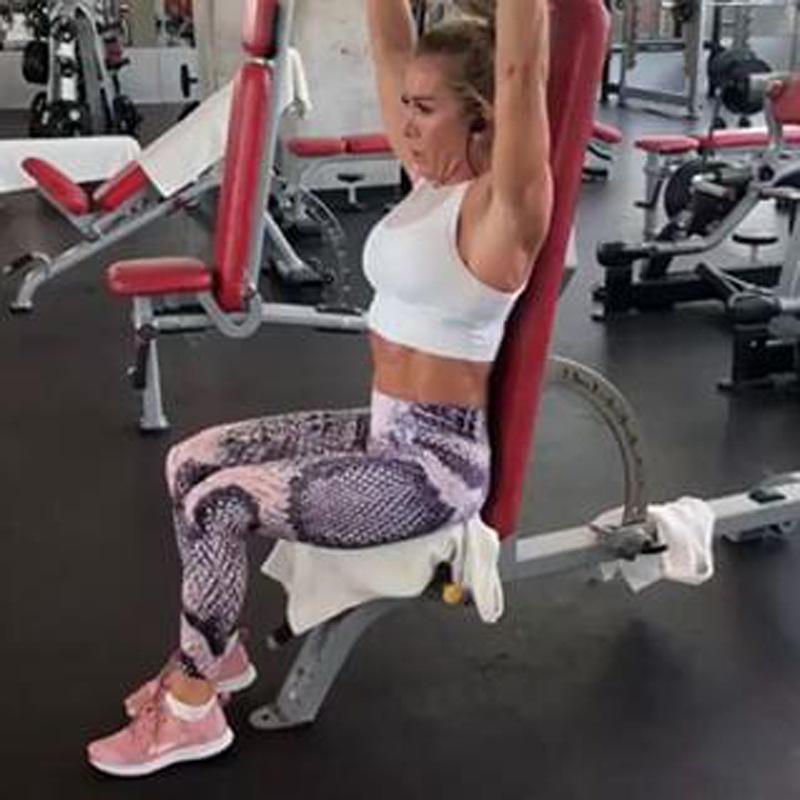 2019 Serpentine Yoga Sports Sexy Hit Senhora Cueca Verão Calças Yoga