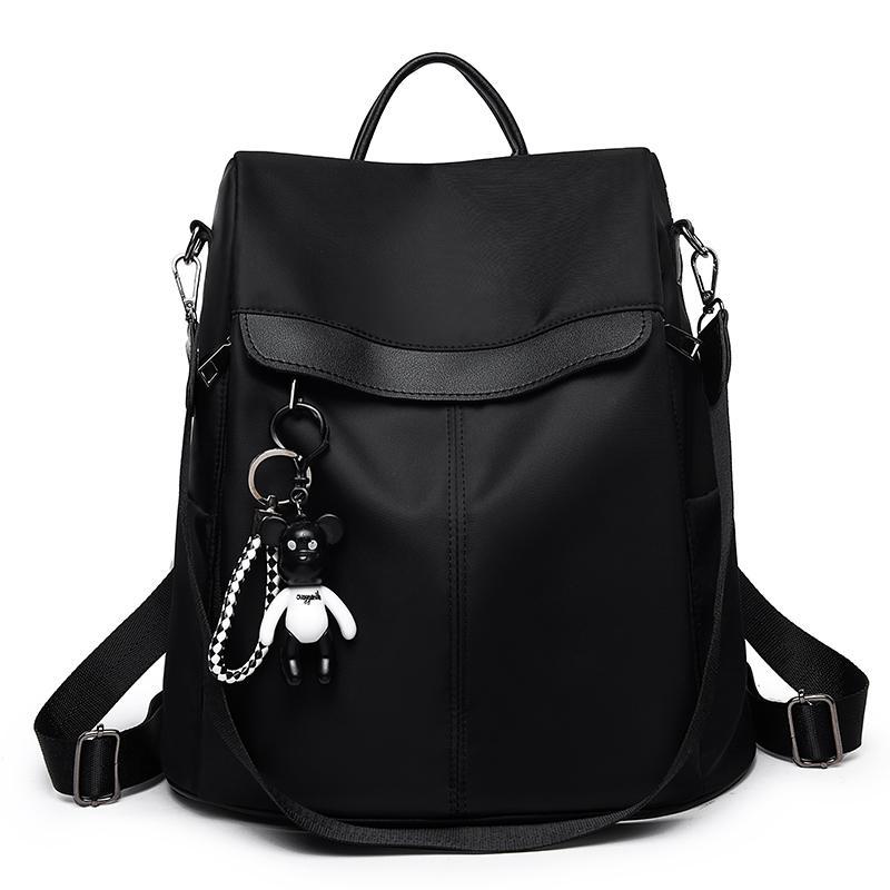 Backpacks Bag Leisure Oxford Women Backpack Female Cute Canvas Fashion Backpack Femal Design For Girls Leisure Travel School Y19051405