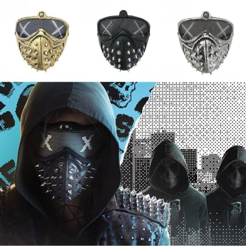 Máscara de Halloween Punk diabo Máscaras Cosplay Rivet Morte Grim Máscaras Ceifador Cosplay Rivet máscaras de Halloween Masquerade