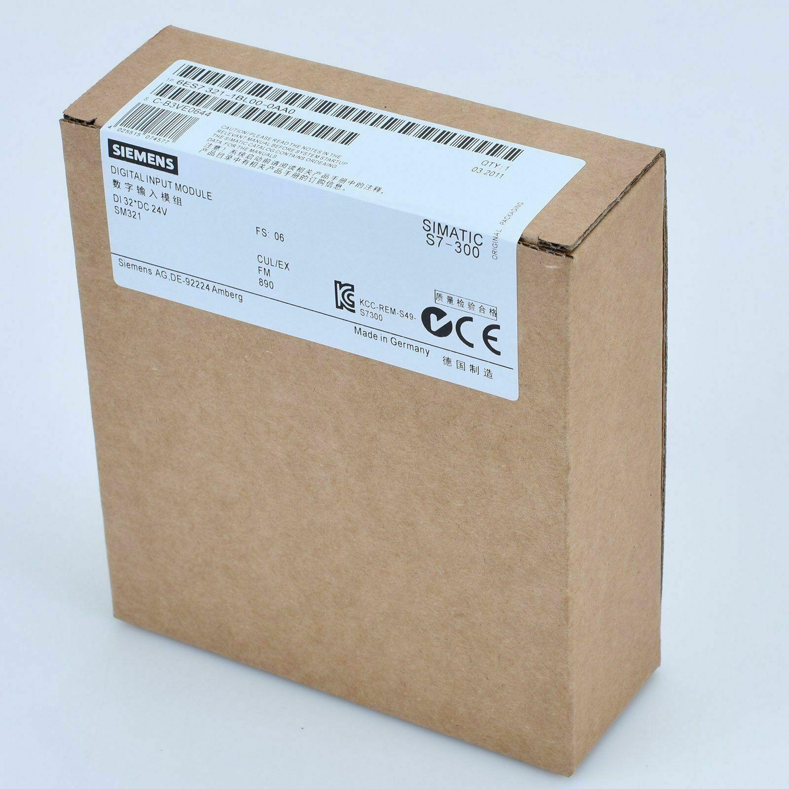 1PC SIEMENS SM321 6ES7 321-1BL00-0AA0 6ES7321-1BL00-0AA0 nuevo en caja