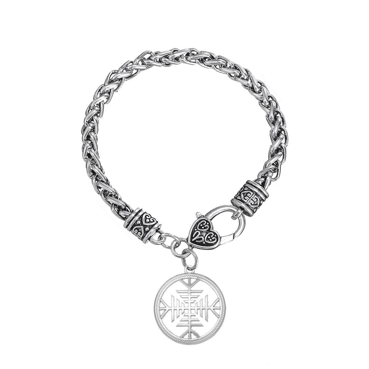 Heißesten Zink-legierung Nickel und Bleifrei Exquisite Hohl Amulett Knoten Armbänder Für Frauen Charme Armband Modeschmuck