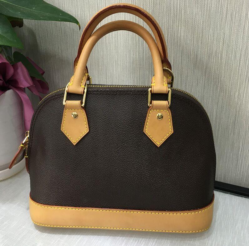 Stil 25cm Epies Design Artsy 2021 Neue Top Bag Handtasche Leder Europäische Echte Alma Schulter Geldbörse Tasche Qualität BB Echte Frauen NFKFD Cisfg