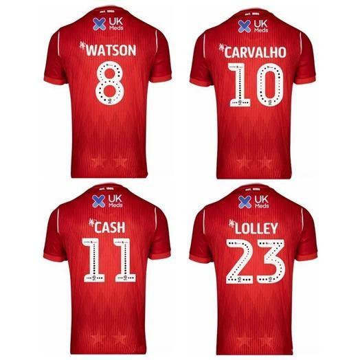 Nottingham Forest FC Black T shirt Soccer football England