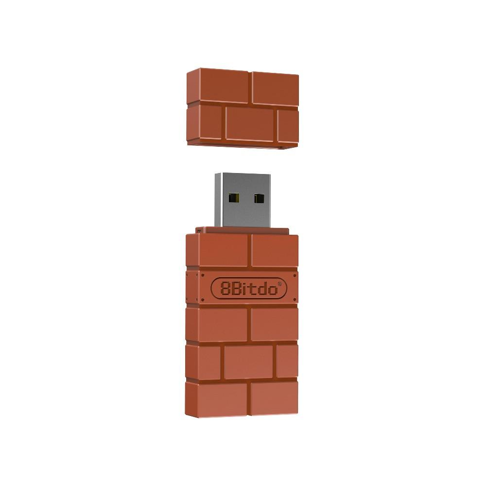 8Bitdo USB sans fil contrôleur Adaptateur pour Nintendo Switch / Windows / Mac / Raspberry Pi PS4 SN30 Pro SF30 Pro Bluetooth 2.1