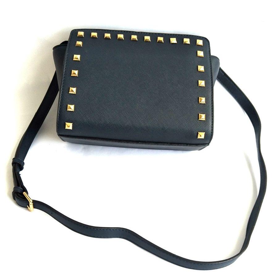 Crossbody 2020 Bags For Women Leather Shoulder Bag Shoulder Bag Women Bags Designer Kettle Messenger Unisex Rivet Bag Sac A Main#973