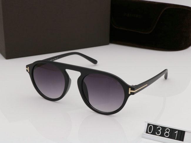 2019 новинка круглые солнцезащитные очки для мужчин и женщин очки том дизайнер квадратные солнцезащитные очки UV400 линзы ford Trend с коробкой солнцезащитные очки TF0381