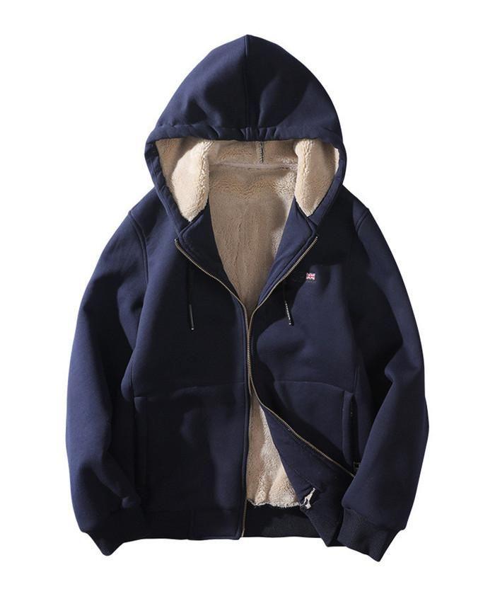 8XL رجل الشتاء مصمم بلوزات طويلة الأكمام هوديس زائد حجم أوم الملابس سستة بلون الموضة نمط عارضة الملابس