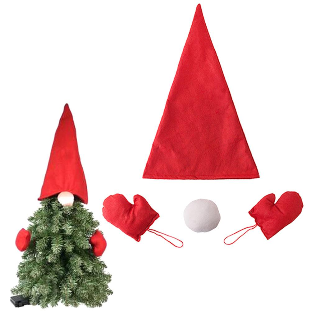Christmas Xmas Tree Top Hat Christmas Decorations For Home Nose Gloves Gnome Ornament Hanging DIY Gift Kerst Decoratie A Christmas Decoration All