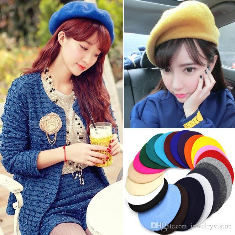 قبعة صوف جديد الخريف المرأة شتاء الصياد قبعة القبعات قبعة سيدة مزيج القبعات قبعات M243