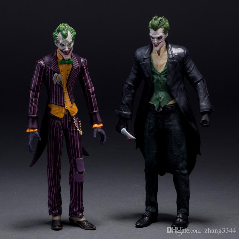 """DC Batman El Joker de Arkham Origins PVC figura de acción de colección Juguetes Modelo 7"""" el 18CM KT107"""
