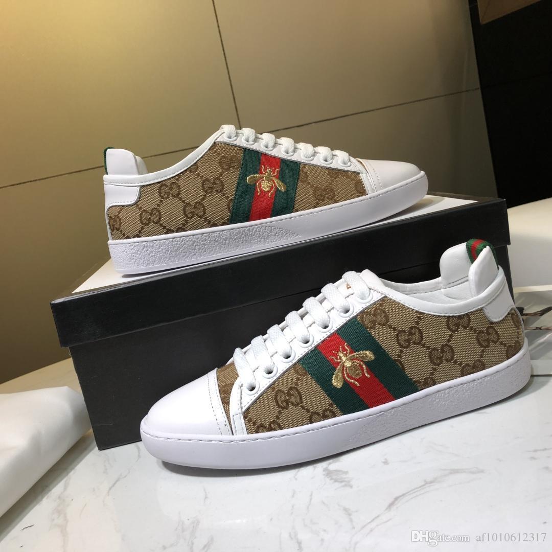 2020 scarpe delle donne di modo di fascia alta qualità amanti scarpe scarpe 35-45 degli uomini privata delle personalizzati in stile classico (con box) 1003