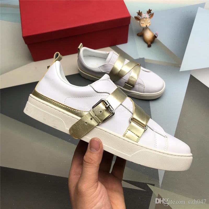 New style Designer Men Women Sneaker Casual Shoes Low Top Italy Stripes Shoe Walking Sports Trainers size 35-46