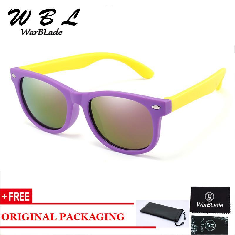 Werbe 2020 heiße Kind-Sonnenbrille Kinder polarisieren Sonnenbrillen UV400 Junge Mädchen Brillen Silikon-Sicherheits-Baby-Shades Brillen