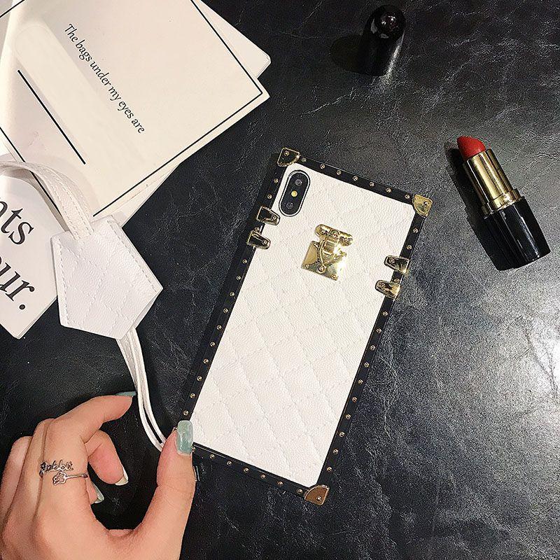 Casse del telefono dal design di lusso per iphone 11 8plus XR XS copertura posteriore MAX modo TPU per la galassia S8 9 nota 9 10