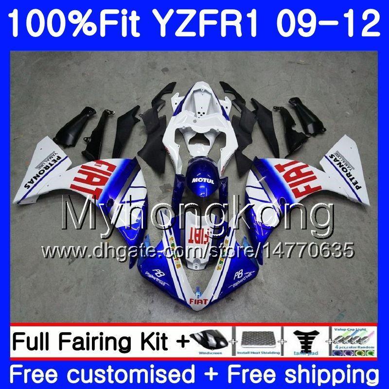 YAMAHA YZF 1000 R 1 YZF R1 2009 2010 2011 2012 핫 판매 화이트 241HM.28 YZF-1000 YZF-R1 YZF1000 YZFR1 09 10 11 12 페어링 키트