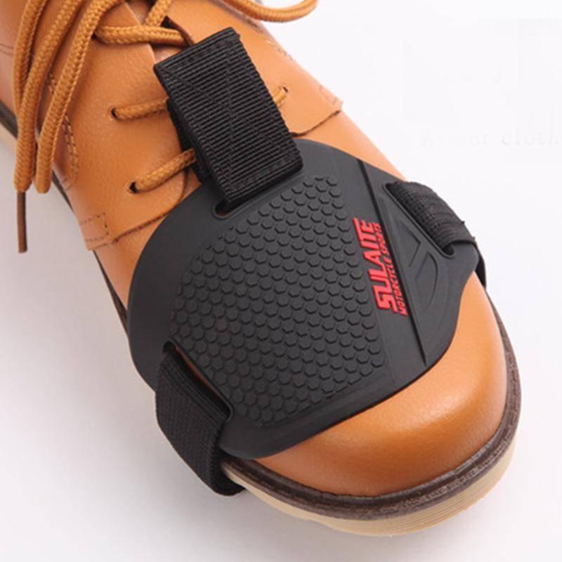 Motorrad-Schuhe Protektoren Shifter-Schutz Schaltsack Abdeckhauben