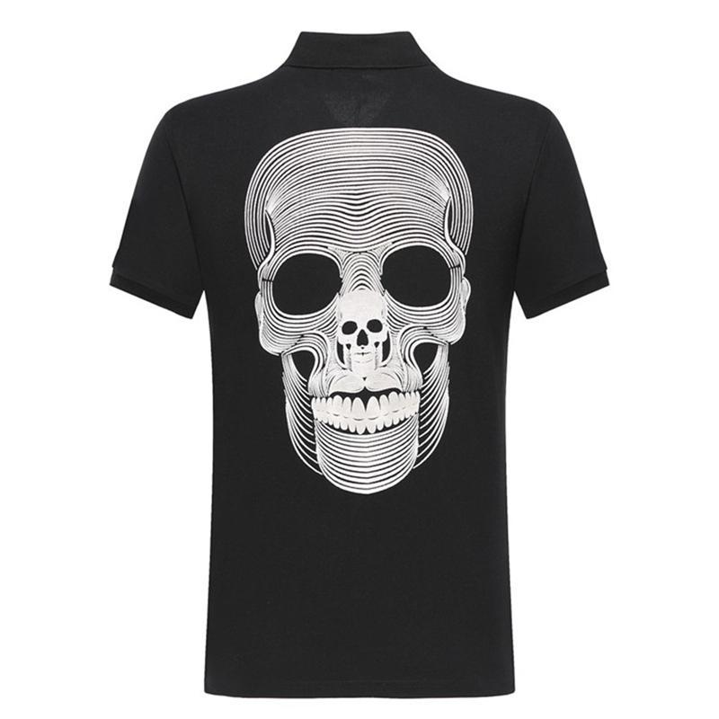 20SS neue Art und Weise Sommer-T-Shirt der Männer Designer Luxury Cotton Skull T-Shirt für Männer und beiläufige Baumwolle-Qualitäts-T-Shirt M Frauen, 13