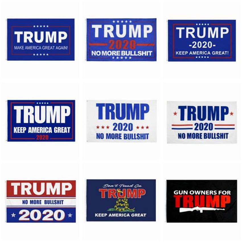 9 Styles Trump 2020 Flag 90 * 150cm Keep America Großer Druck USA Banner Donald Trump Präsidentenwahl Flagge Partei Banner Flaggen ZZA2292