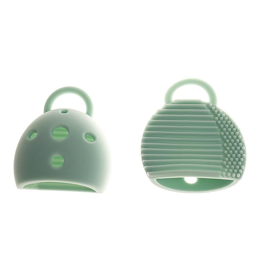 Spazzola per trucco in silicone Pulitore per 2 in 1 Clean Dries Spazzole per trucco Strumento per pulizia manuale Spazzola per lavaggio RRA1220