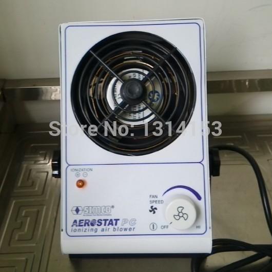 Alta calidad SIMCO contra electrostática de iones de ventilador del ventilador de iones eliminador de estática PC