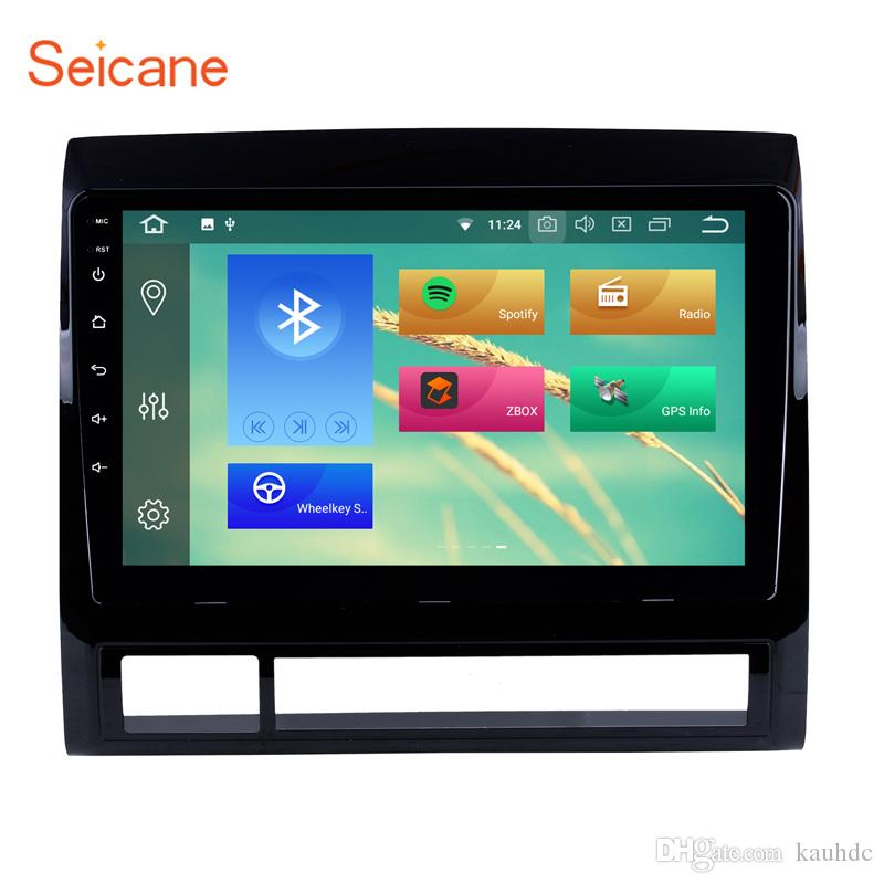 HD Touch Screen 9 inch Android 8.1 Car Radio GPS Navigation for 2005-2013 TOYOTA TACOMA / HILUX (America Version) with WIFI support car dvd