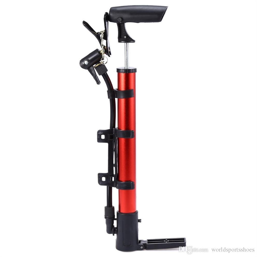 T Poignée Bicycle Pump Set vélos ballons de football Pneu Pompe Gonfleur