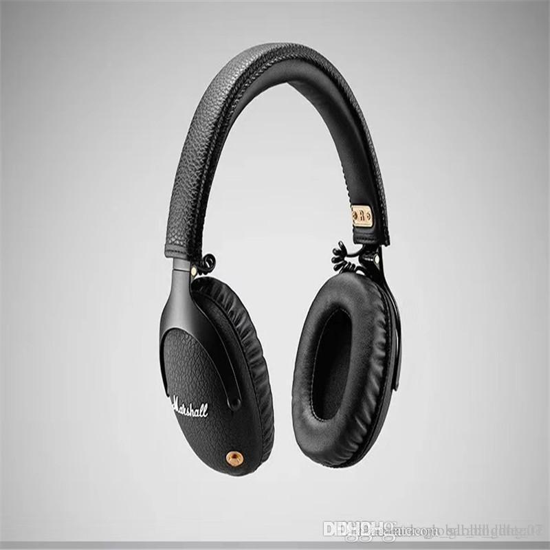 2020 High Quality Marshall Monitor Wireless Bluetooth Headset High Quality Rock Music Recording Headphones Bluetooth Car Kit Hands Free Calls From Sarah Dhate01 77 24 Dhgate Com
