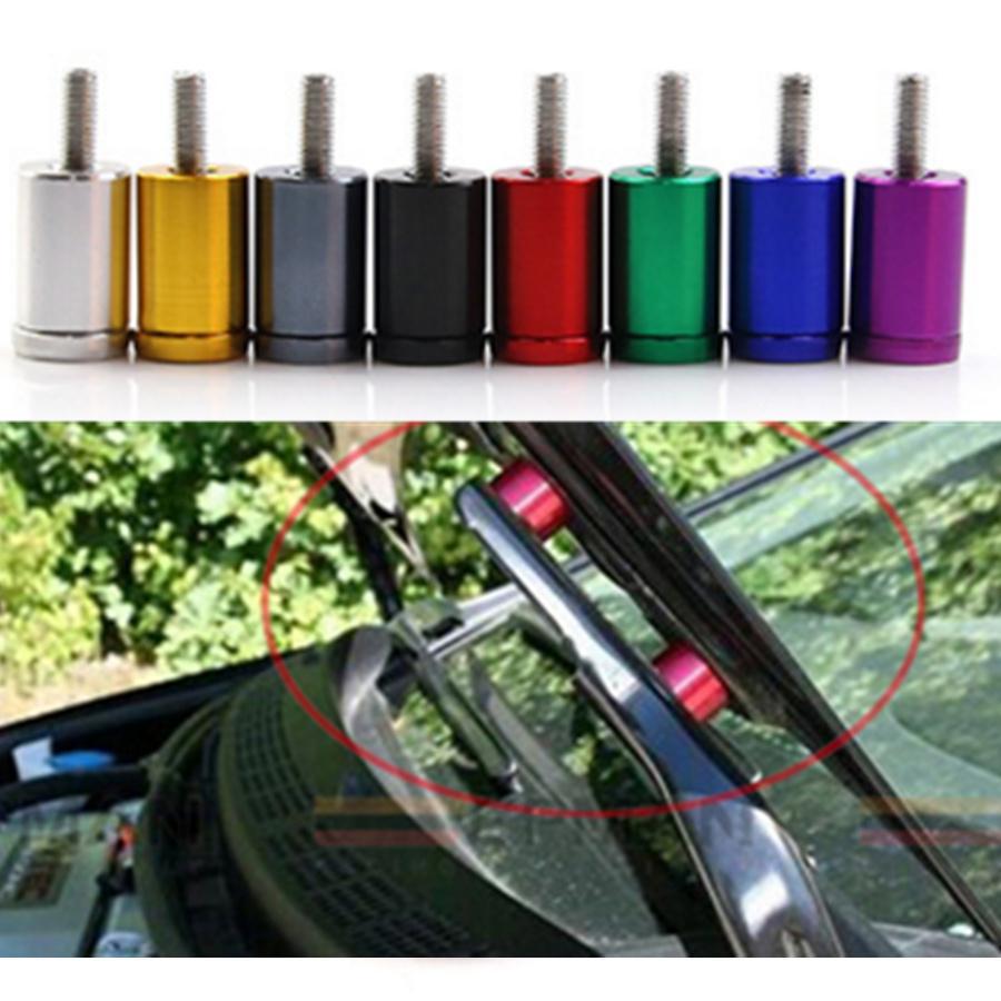 4x 6 мм алюминиевый автомобиль турбо двигатель мотор капот Вент распорных стояк поменять сохранить капотом Temps Классный комплект