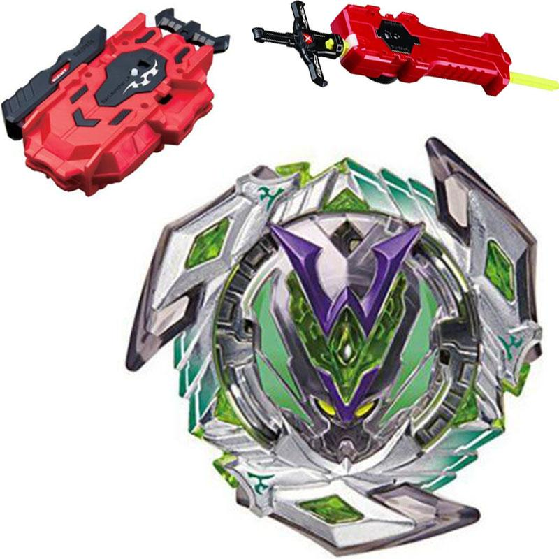 Bey Blade 1pcs Beyblade Burst Bayblade Metal Fusion 4D L-DRAGO DESTROY F:S+Launcher Kids Toys Children Christmas Gift B118