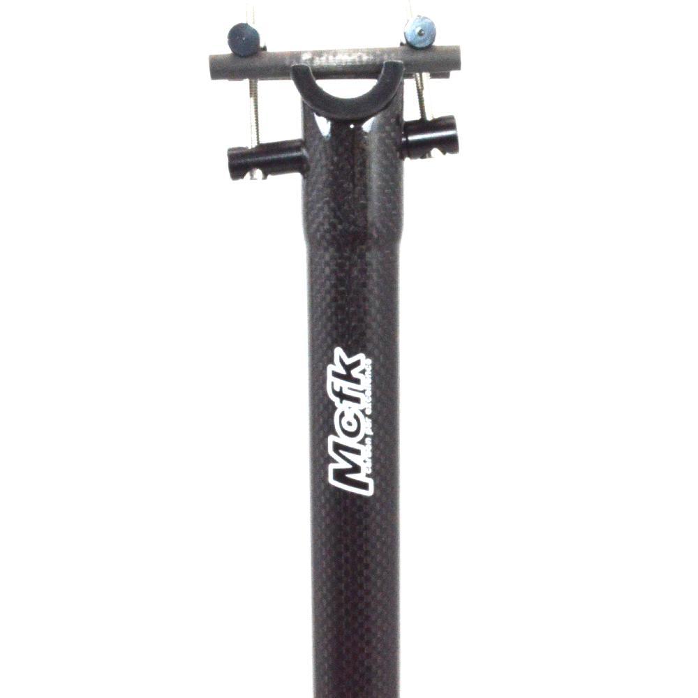 nova MCFK Estrada assento de bicicleta pós 3K carbono bicicleta de fibra de MTB espigão de carbono montanha ciclismo partes selim ultralight 160-180g