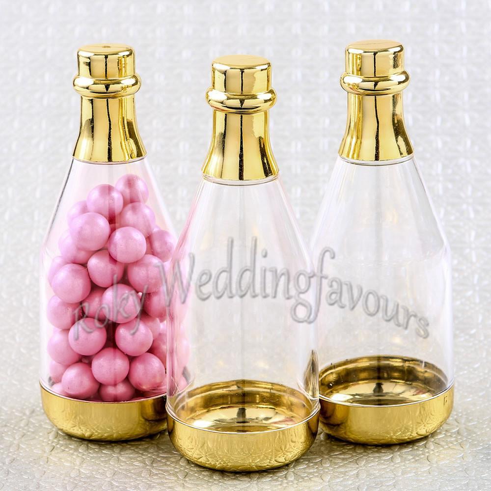 12pcs Mini Wine Bottles Candy Box Baby Shower Party Favors Table Decor DIY