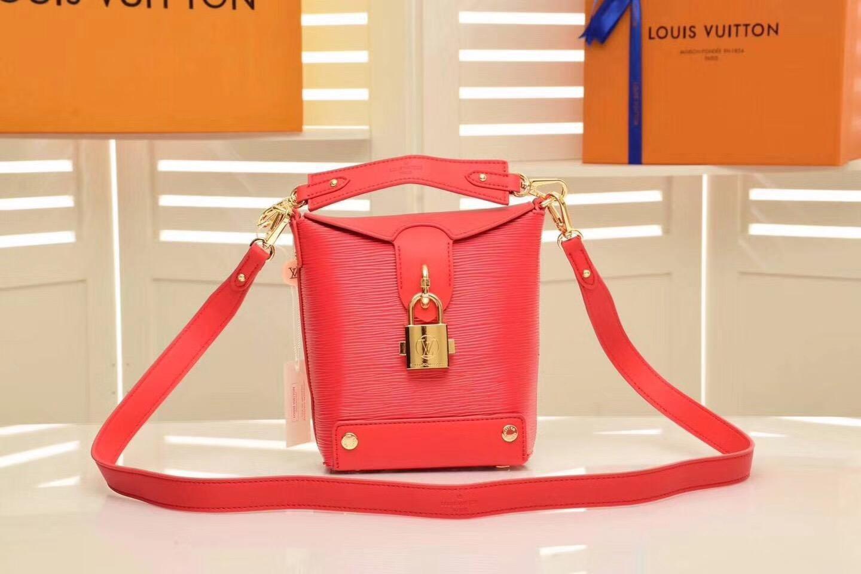 2019 новая мода кожаная сумка, один мешок плеча, двойной мешок плеча, модель: M43518-1 размер: 15-16-7cm