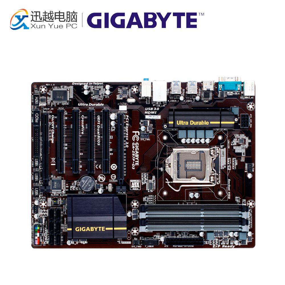 2019 Gigabyte GA Z87P D3 Desktop Motherboard Z87P D3 Z87 LGA 1150 I3 I5  DDR3 32G ATX From Mung, $88 68 | DHgate Com