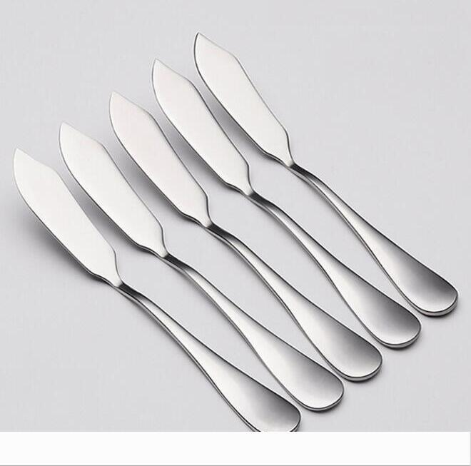 Creativity 304 Stainless Steel Butter Knife Western Food Cheese Bread Jam Spreader Bread knife Tableware Knives DHL FREE 1177
