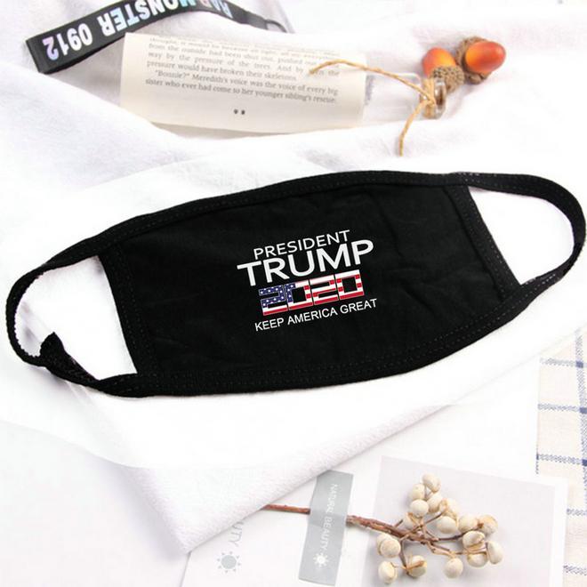 Donald Trump Gesichtsmaske algodon maske Keep America großer Präsident Maske Baumwolle Donald Trump das Spektrum der Qualität bwkf gbQyp