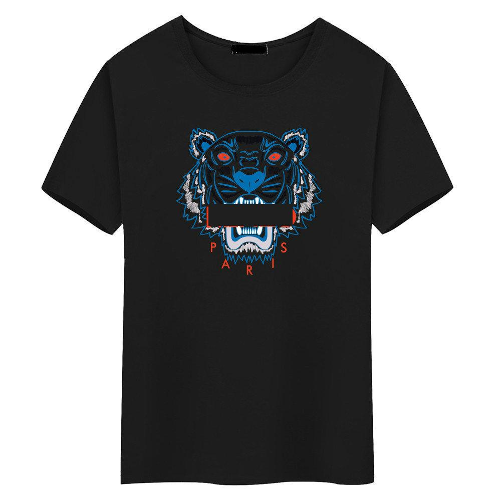 Fashion-new brand luxury designer t shirts Tiger head for mens tshirt women t shirt men's clothes Breathable clothing Tiger head t-shirt