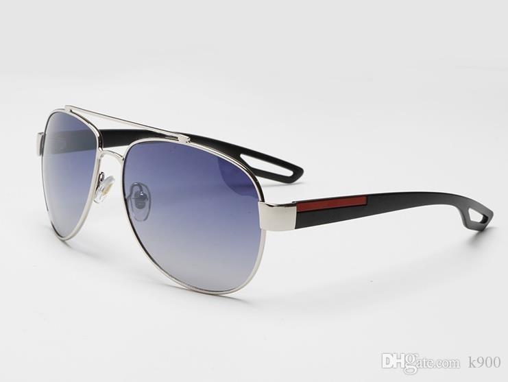 SPS55 Горячие Продаем металл очки высокого качества Полный кадр солнцезащитные очки для мужчин Женщины кадров дизайнерский бренд очки Бесплатная доставка