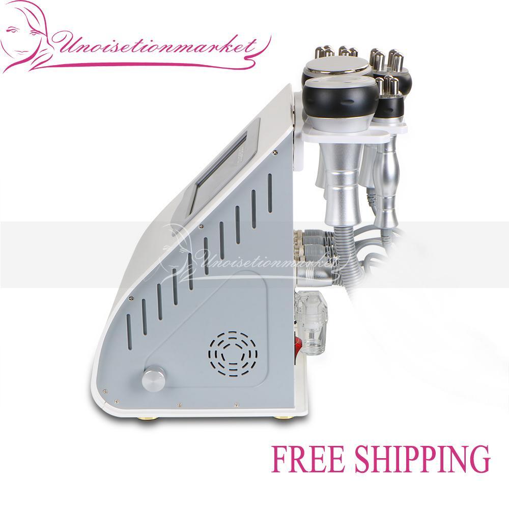 5 in 1 Unoisetion Ultrasonic Cavitation Slimming Machine Vacuum Body Fat Burner RF Beauty Skin Care Equipment