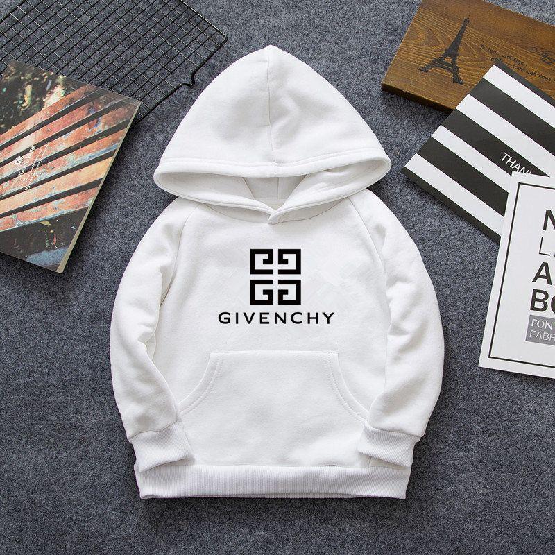 2019 hot classic luxury logo2-7 idade bebê menino e menina jaqueta jaqueta 100% algodão camisola do hoodie moda infantil algodão roupas esportivas topos