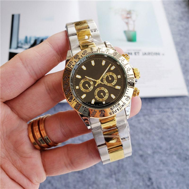 بيع رخيصة الرجال النساء موضة الذهب ووتش الفولاذ المقاوم للصدأ تصميم جميع اطلب العمل الحركة التلقائية الساعات الميكانيكية 13 اللون ساعة اليد