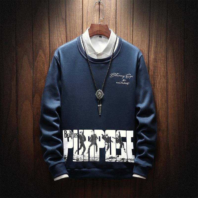 2019 Luxury Designer Mens Hoodie Para camisola Men Outono Hoodies manga comprida Pullover Mens Streetwear Tops Roupa 4 cores M-4XL