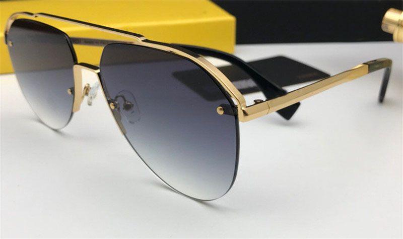Top New Frameless 0031 Sunglasses Pilot Sunglasses Popular Designer Fashion UV Quality Outdoor 2019 Steampunk Style Lens GMHHP