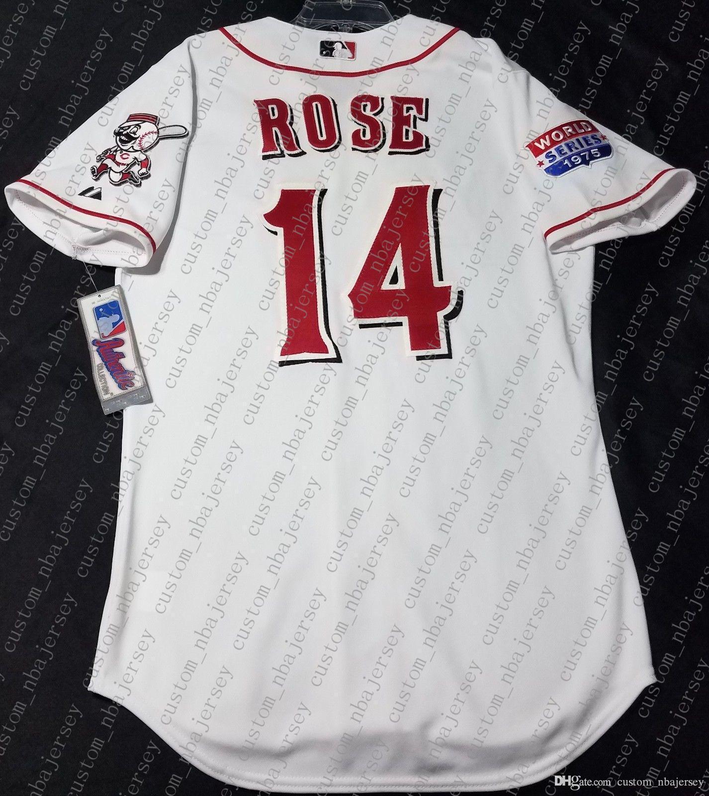 100% вышивка WHITE ROSE ПИТ Джерси сшитые настроить любое имя номер MEN трикотажных изделий NCAA ДЖЕРСИ