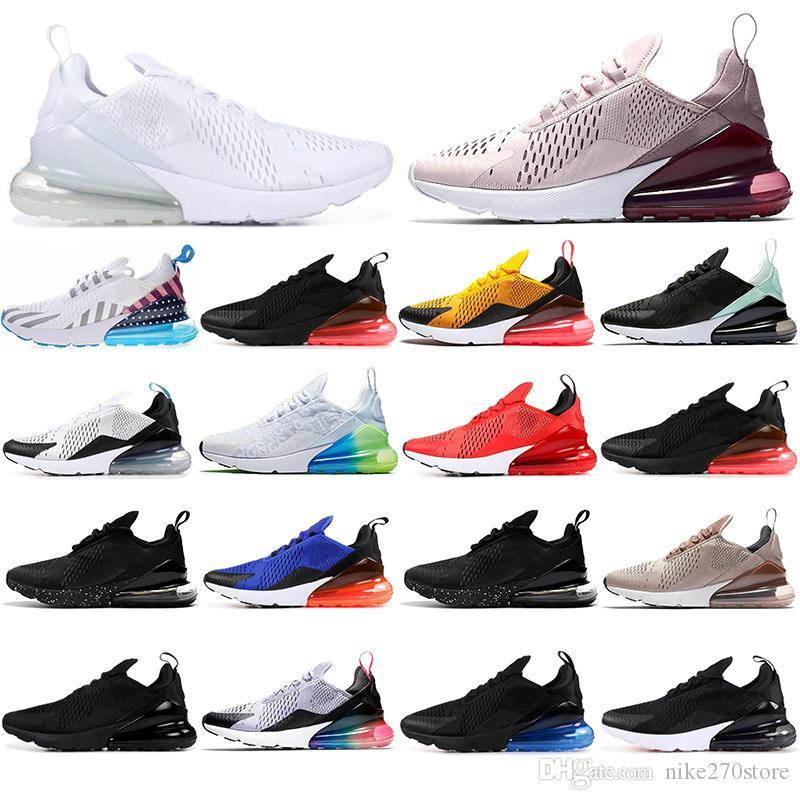 max 270 Con Calcetines NUEVO Cojín Zapatilla de deporte Diseñador de zapatos Off Road Star Hierro Sprite 3M CNY BARELY ROSE stars zapatillas de deporte Hombre General