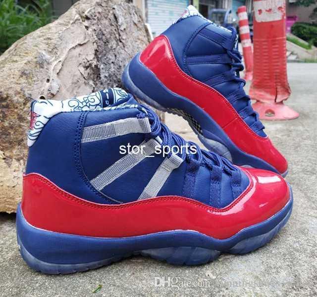 Yeni Jumpman air jordan retro 11 12 Erkek Retro Basketbol Ayakkabı Lacivert Spor Kırmızı Eğitmenler Spor Sneakers 11 s 12 s Tasarımcı Atletik sneakers Boyutu US7-13