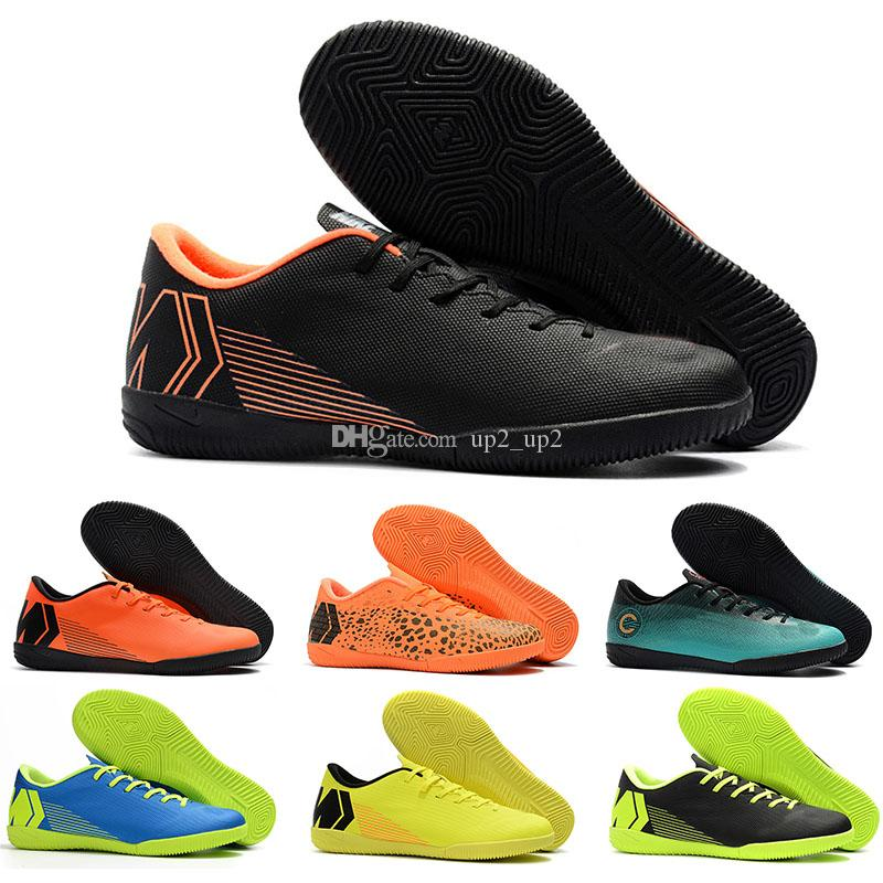 حار بيع أحذية VAPORX 12CLUB كرة القدم أحذية منخفضة مساعدة TF في الهواء الطلق مصمم رجالي أحذية كرة القدم الرياضة أحذية رياضية